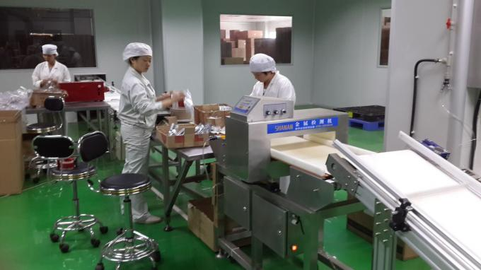 Digital food grade conveyor belt type metal detector / metal detector in frozen food industry