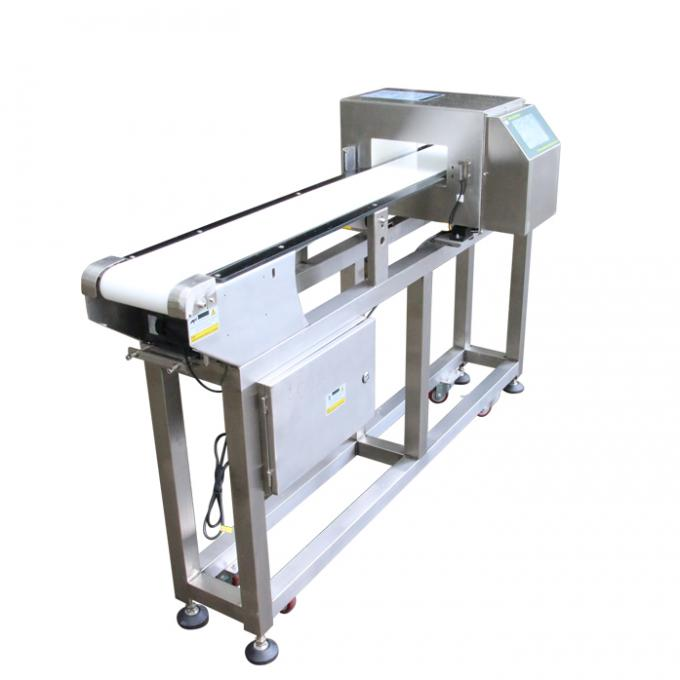 Safety Food Grade Metal Detector For Bakery Industry / X Ray Metal Detector Food Checking
