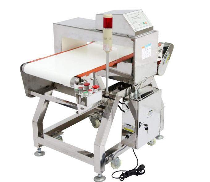 Touch Screen High Sensitivity Chain Conveyor Food Security Checking Metal Detector for Food Industry