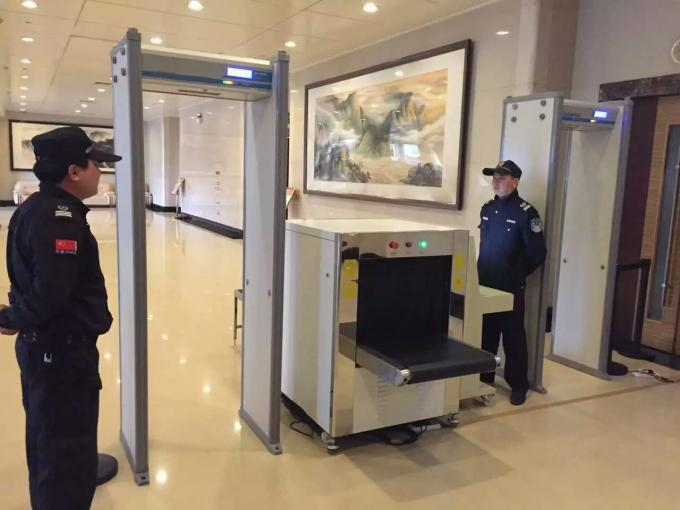 Professional Security X Ray Baggage Scanner For Station / Airport , 0.22 M/S Conveyor Speed