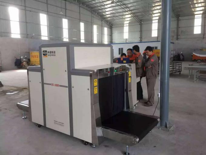 Security Check Luggage X Ray Machine Load Gary Color Ability Within 200kg