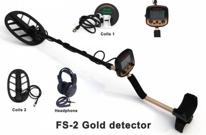 3.5 Meters Underground Metal Detector , Treasure Hunter Metal Detector