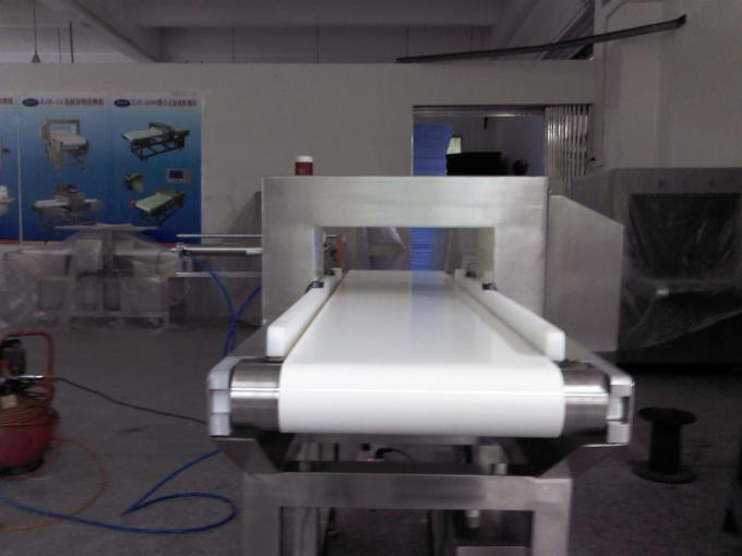 Tabletop Food Safety Detector Conveyor Metal Detector For Food Process Industry