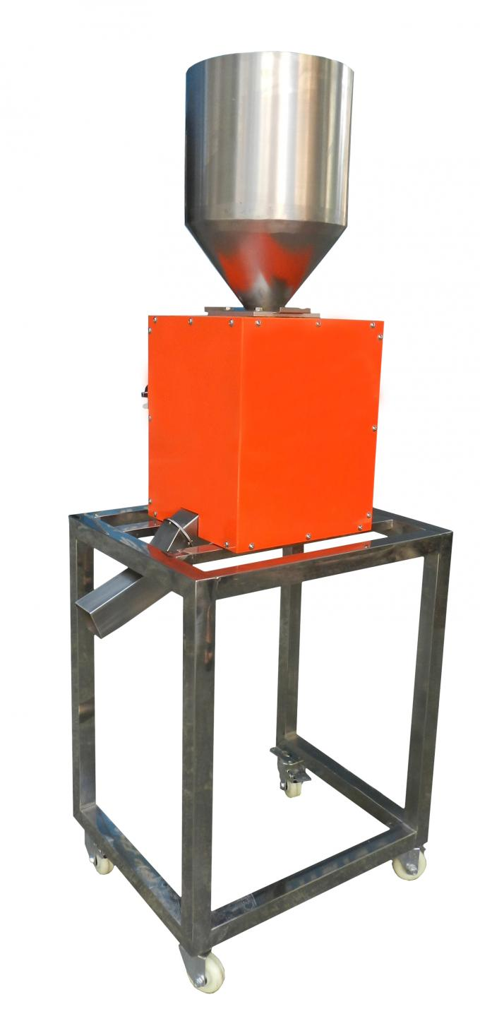 Gravity Free Fall Metal Detector Separator For Food Medicine Chemical And Plastic Industry
