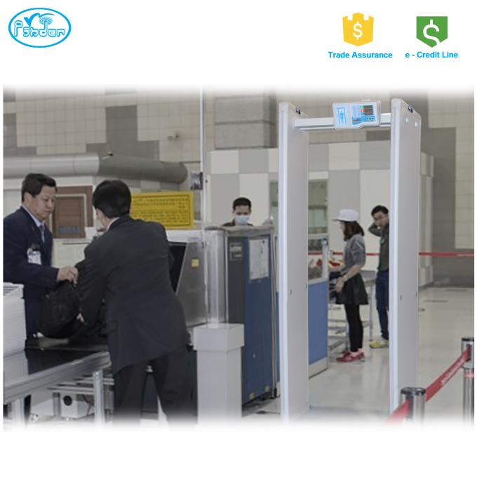 Luggage Scan Airport X Ray Machine For Inspection , Big Tunnel X Ray Inspection System