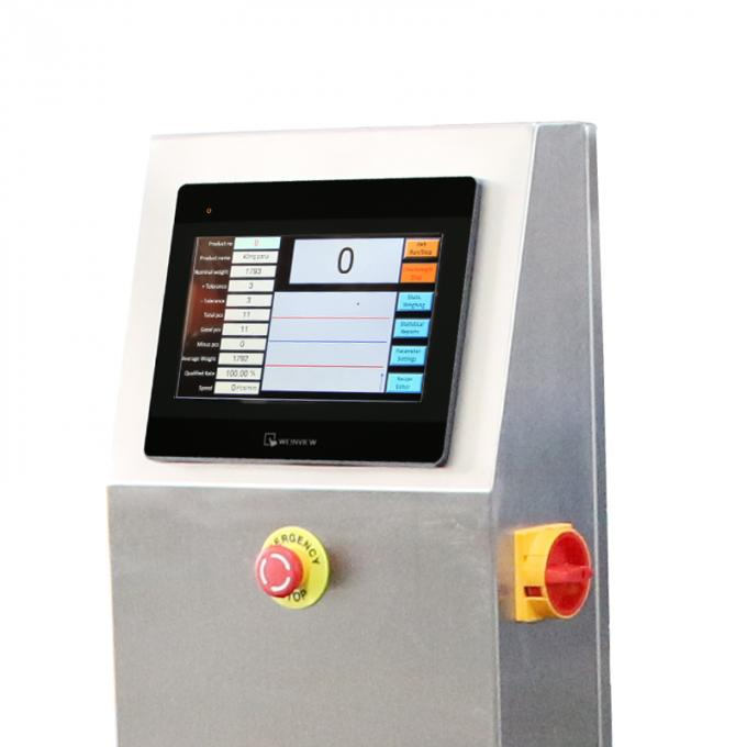 High Accuracy Conveyor Weight Checker Stainless Steel For Food Industrial