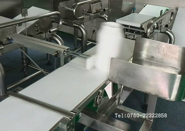 Sea Food Industrial 8 Grade Weight Sorting Conveyor Online Check Weigher 220 V