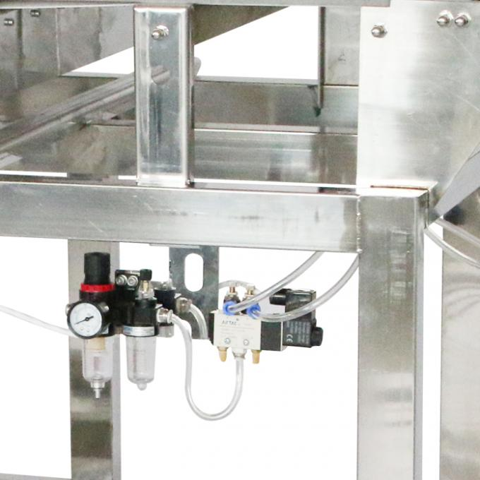 304 SUS Food Grade Conveyor Belt Metal Detectors 700 Mm ± 50 Mm Height