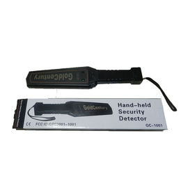 China Security Wand Metal Detectors / Handheld Security Scanner 1 Year Warranty supplier