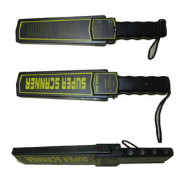 China ABS Hand Held Metal Detector / Portable Metal Wand Detector With Buzzer supplier