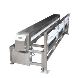 China Food / Textile Industrial Metal Detectors 0.8MM Ferrous With 1000*120mm Size Tunnel supplier