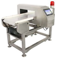 China Conveyor Metal Detector For Frozen Food Industry , Frequency Adjustable supplier