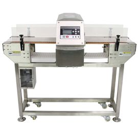 China Digital food grade conveyor belt type metal detector / metal detector in frozen food industry supplier