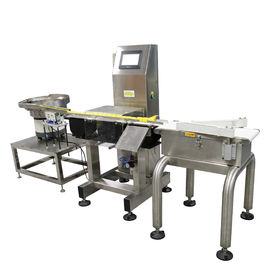 China High Speed Conveyor Weight Checker / Dynamic Checkweigher Machine supplier