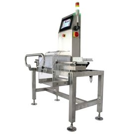 Production Processing Checkweigher Scale For Weighing Packages , Size Customized