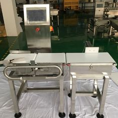 China Dynamic In Motion Checkweigher Scale Sorting Machine With 8 Inch Touch Screen Display supplier