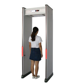 China Waterproof Walk Through Metal Detector 6 Zone For Security Inspection supplier