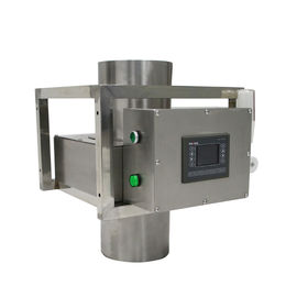 China Food Industry Gravity Metal Detector For Rice / Powder , 0.6mm Ferrous Sensitivity supplier