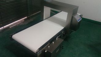 China Food Safety Belt Conveyor Metal Detectors For Milk Powder , 1 Year Warranty supplier