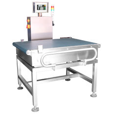 China High load ability conveyor belt weighting scale checkweigher supplier