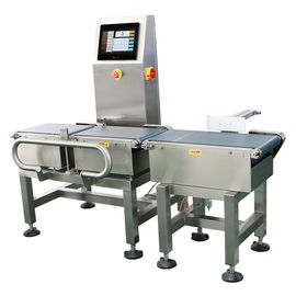 China Automatic Food Industry Conveyor Weight Checker With Advanced Digital Signal Processing supplier
