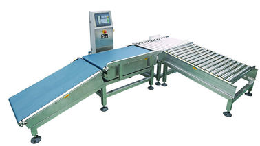 China Large Throughput Checkweigher Scale , Automated Sorting System CE And ISO supplier
