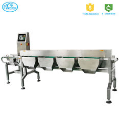 China High speed Dynamic automatic checkweigher With High Accuracy Rejection System supplier