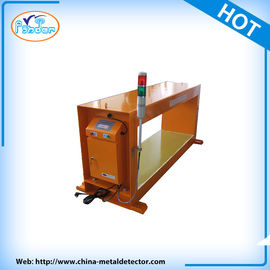 China 90W Industry Food Grade Metal Detector Used In Wooden / Log , Coal , Cement supplier