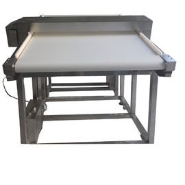 China High Sensitivity Inclined Food Metal Detector Conveyor Belt With Multi - Reject System supplier
