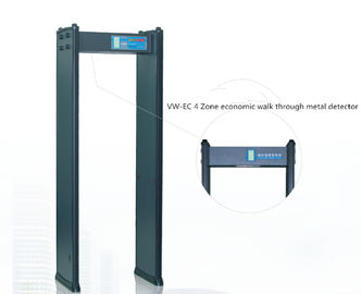 China LED Display Multi Zone Metal Detector Walk Through With Four Key Panels Operation supplier