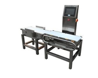 China Large Throughput Conveyor Weight Checker Machine Dynamic Digital Signal Processing supplier