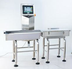 China High Precision Dynamic Weighing Conveyor Belt Scale Check Weigher Product Line Conveyor Machine supplier