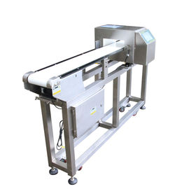 China Customized Adjustment Belt Conveyor Metal Detectors Touch Screen For Food Industry supplier