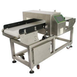 China High Sensitivity Conveyor Belt Food Grade Metal Detector For Bakery / Meat Industry supplier