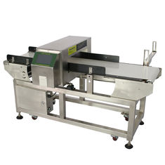 China Conveyor Belt Industrial Metal Detectors For Plastic , Frozen Food Processing Industry supplier