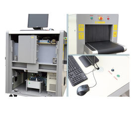 China Detection Image Portable X Ray Baggage Scanner 8 Mm Penetration 24Bit True Color Display supplier