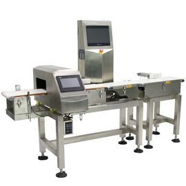China Waterproof Combo Online Checkweigher And Metal Detector Machine Stable , ± 0.1g Accuracy supplier