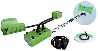 China Treassure Gold Metal Detector Machine With Two Search Coils , LCD Display supplier