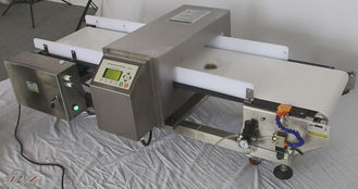 China PVC / PU Belt Conveyor Metal Detectors Food Inspection Machines , Ferrous , Non-ferrous , 304 SUS supplier