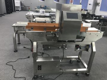 China Touch Screen Conveyor Belt Stainless Steel Metal Detector For Food Industry supplier