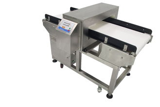 China Durable Aluminum Foil Metal Detector Conveyor Detection For Tin Foil Package , 0.5 Mm Fe supplier