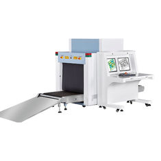 China Luggage Scan Airport X Ray Machine For Inspection , Big Tunnel X Ray Inspection System supplier