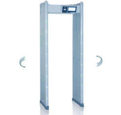 China Arched Walk Through Security Metal Detectors Body Scanner Alarm System supplier