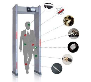 China Touch Screen Walk Through Metal Detector Door Frame For Defender / Public / Archway Security supplier