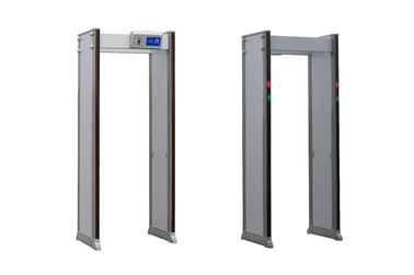 China Digital Harmless Portable Walk Through Metal Detector Gate Waterproof And Damp Proof supplier