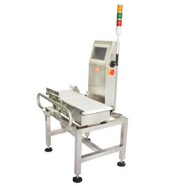 China Electronics Industry Automatic Check Weigher , Belt Conveyor Dynamic Weighing Machine supplier