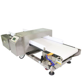 China Large LCD Display Metal Detector Conveyor System For Food Industry - Air Blast supplier
