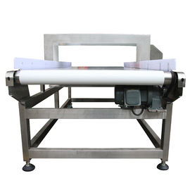 China ISO Food Grade Metal Detector Aluminum Foil Packaging Conveyor Belt Metal Detector supplier