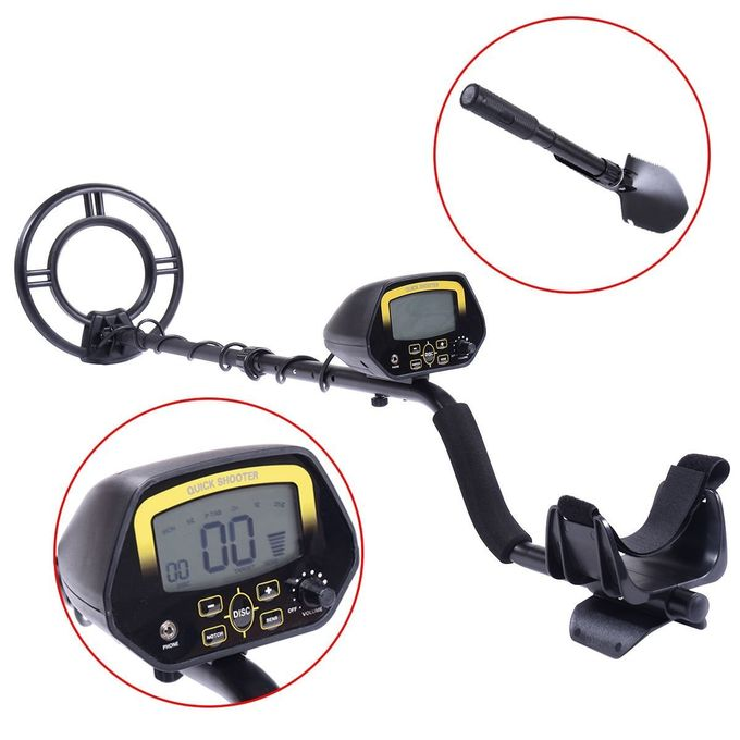 Long Range Ground Metal Detector Scanner For Treasure Finder , Highest Sensitivity