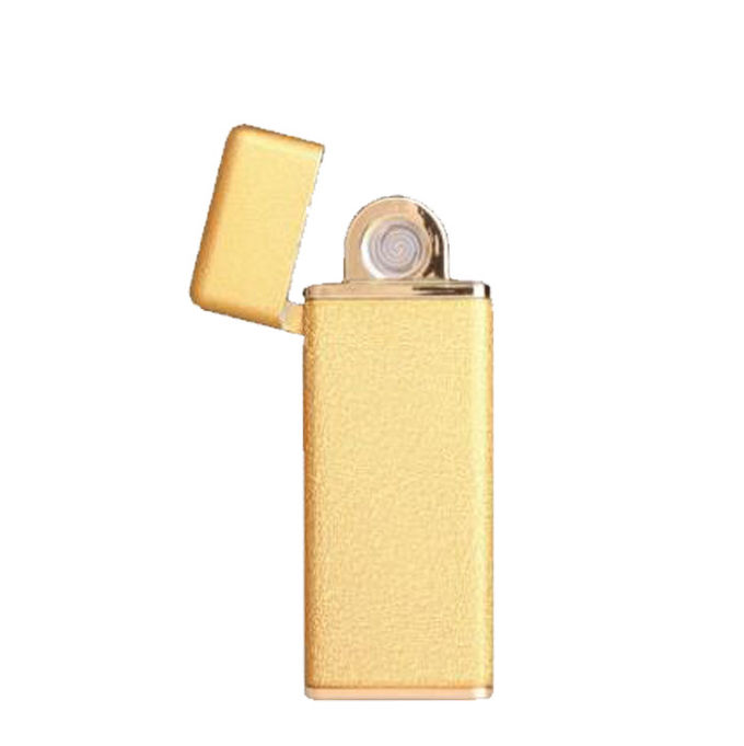 Double Sided USB Electronic Rechargeable Flameless Cigarette Lighter Zinc Alloy Material